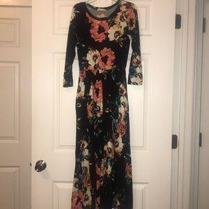 Reb & J Maxi floral dress